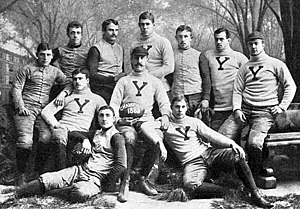 Amos Alonzo Stagg - Stagg (far left) on Yale's 1888 team