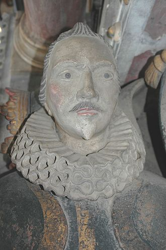 Spencer baronets - Sir William Spencer (died 1609), father of the first baronet, as depicted in his memorial in the Spencer Chapel of Yarnton parish church, Oxfordshire