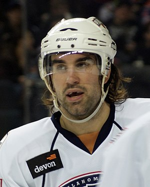 Zack Stortini - Stortini in 2010 with the Oklahoma City Barons