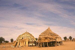 Zarma people - Image: Zagroda Djerma (ok. 90 km na pd wsch. od Niamey) Niger 001193s