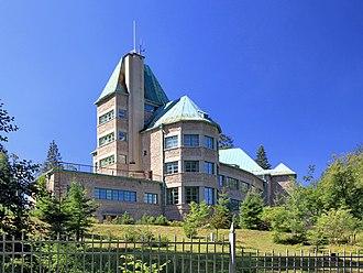Wisła - Presidential Castle in Wisła