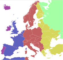Carte Fuseaux Horaires Europe.Heure En Europe Wikipedia
