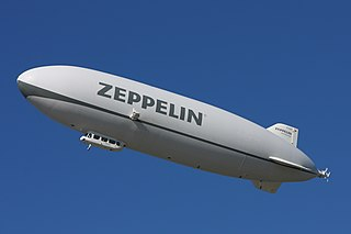Airship type of aerostat or lighter-than-air aircraft