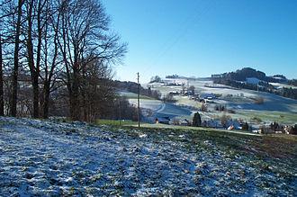 Wald, Bern - Hamlet of Brönni, Obermuhlern, village of Zimmerwald