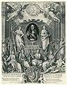 Zinneprent ter ere van Willem III Wilhem Hendrick D.G. Prins van Oranje, Grave van Nassau (..) Cap. en Admirael Generael vande Vereenigde Nederlanden (titel op object), RP-P-OB-77.035.jpg