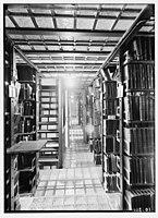Zionist activities in Palestine. The Hebrew University Library. Book stacks. LOC matpc.02655.jpg