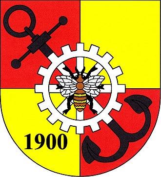 Plesná (Cheb District) - Image: Znak Plesná