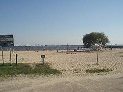 Strand bij Meerwijck (zuidlaardermeer)