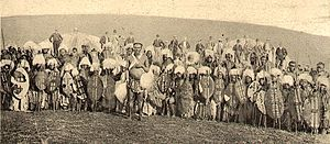 Bambatha Rebellion - Zulu warriors