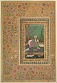 """Haji Husain Bukhari"", Folio from the Shah Jahan Album MET DP246556.jpg"