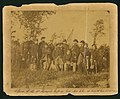 """Officers of the Third Regiment Missouri Volunteers taken at Corinth, Mississippi, 28 October 1863."".jpg"