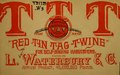 """""""Red tin tag twine"""" for self-binding harvesters, and how it is made at the works of L. Waterbury & co. .. (IA redtintagtwinefo00wate).pdf"""