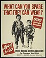 """WHAT CAN YOU SPARE THAT THEY CAN WEAR"" ""GIVE CLOTHING FOR WAR RELIEF"". - NARA - 516124.jpg"