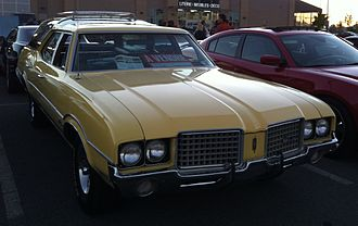 Oldsmobile Vista Cruiser - 1972 Oldsmobile Vista Cruiser