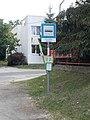 'Volán telep' bus stop, 2018 Oroszlány.jpg