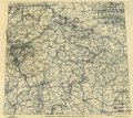 (April 12, 1945), HQ Twelfth Army Group situation map. LOC 2004631933.tif