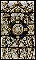 Écouen Château d'Écouen Innen Musée national de la Renaissance Glasmalerei 01.jpg