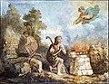 Église Saint-Martin de Castelnau-d'Estrétefonds - Le sacrifice d'Abel par Robert Arsène IM31000071.jpg
