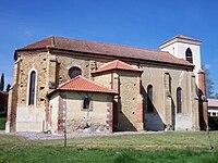 Église de Sarraguzan (Gers, France).JPG