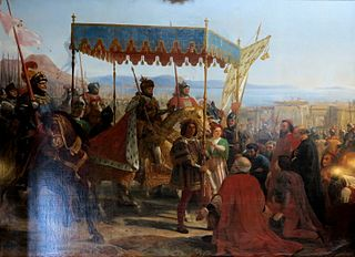 Entry of Charles VIII to Naples, May 12, 1495