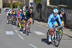 Étoile de Bessèges 2018 - étape 4 - St Lurent des Arbres - 1er passage 2.jpg