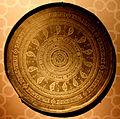 Şirvanşahlar sarayında orta əsrlərə aid bədii təsvirli tabaq.JPG