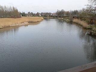 The river Sventoji at Sventoji town