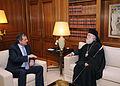 Αντώνης Σαμαράς - Συνάντηση με τον Πατριάρχη Αλεξανδρείας και πάσης Αφρικής κ.κ.Θεόδωρος Β΄7732345210.jpg