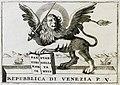 Προμετωπίδα- ο Λέων της Βενετίας - Coronelli Vincenzo Maria - 1708.jpg