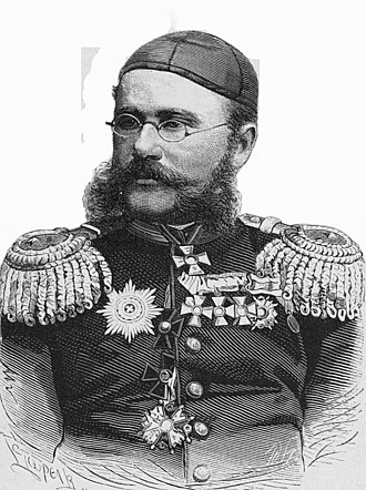 Alexander Konstantinovich Abramov - Major General A.K. Abramov, Commander of Zeravshan District