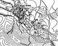 Карта-схема к статье «Кара-Агач». Военная энциклопедия Сытина (Санкт-Петербург, 1911-1915).jpg