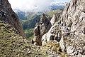 Куэста Большого Тхача, вид сверху, горы Западного Кавказа, Адыгея.jpg