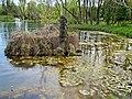 Тернопіль - Гідропарк «Топільче» - Дерев'яна скульптура «Буратіно».jpg