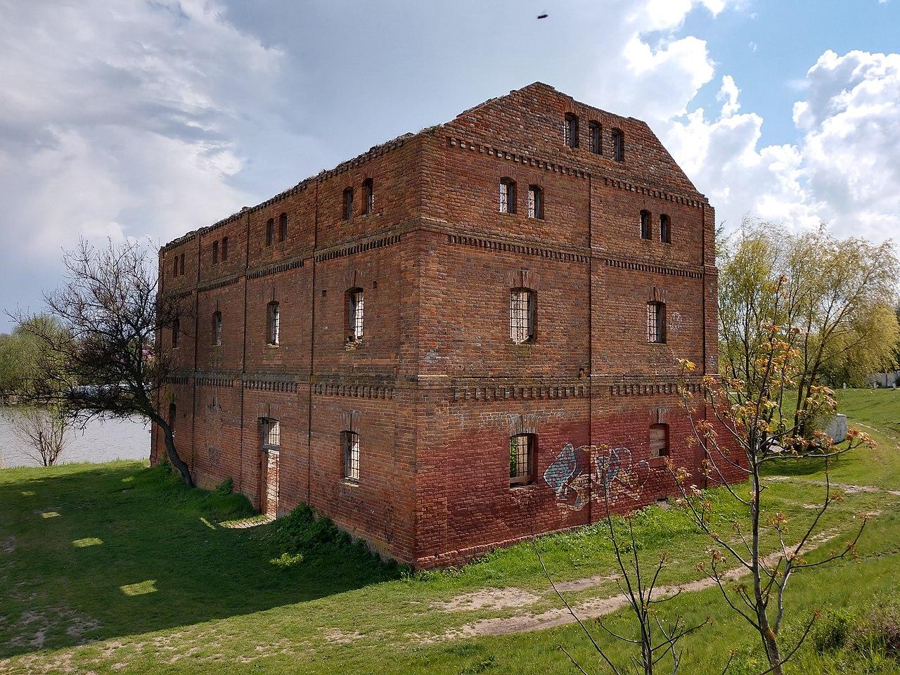 Здание водяной мельницы XIX в.