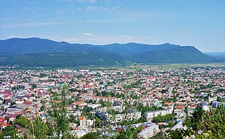 Khust City of regional significance in Zakarpattia Oblast, Ukraine