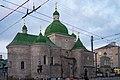 Церква Різдва Христового (Тернопіль) (вид з вулиці).jpg