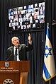 ראובן ריבלין בהדלקת נרות חנוכה במשרד החוץ - 2020.jpg