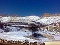 بارش برف در خروجی تنگ ابولحیات, ج.طاهری - panoramio.jpg