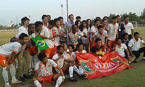 Khǒr Royal Cup - J.W. Group F.A., the winner of the 2013 Khǒr Royal Cup.