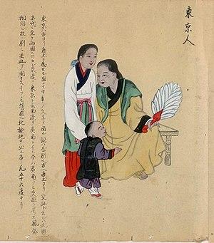 Vietnamese clothing - Court dress of Lê Dynasty.
