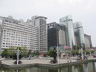 Jiaojiang District District in Zhejiang, Peoples Republic of China