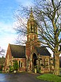 -2020-12-28 The south facing elevation, Cromer town cemetery chapel, Cromer, Norfolk.JPG