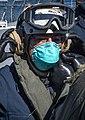 -USS Mount Whitney (LCC 20) medical evacuation drill in Gaeta, Italy, May 7, 2020- (49870680711).jpg