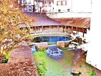 Tonnerre, Yonne - The Fosse Dionne.