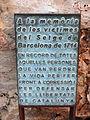 022 Als màrtirs del Setge de 1714, de Xavier Cuenca (Gavà).JPG