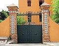 035 Casa Nadal i Farré, façana del Camí Ral (Caldes d'Estrac).JPG