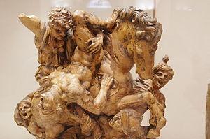 Giovanni Francesco Rustici - Anghiari Battle after Leonardo da Vinci, Bargello museum