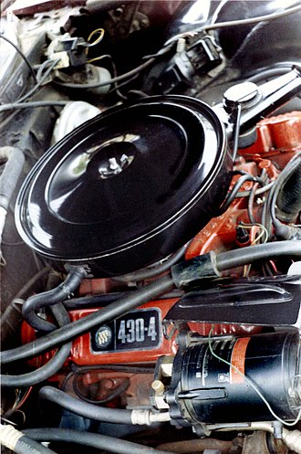 Buick V8 engine - 1968 Wildcat 430 CID engine