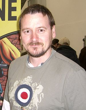 Mike McKone - McKone at the Big Apple Convention in Manhattan, 18 October 2009.