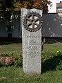 100 éves a Rotary világszervezet, emlék, 2017 Mátészalka.jpg